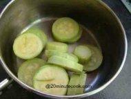 Drain the zucchini