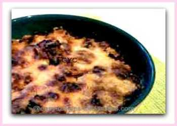 Easy Recipes For Ground Beef - Killara Bake with Crusty Cheese Top