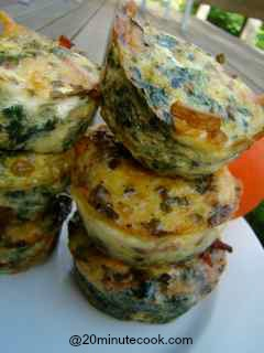 Bacon and egg muffins in under 20 minutes