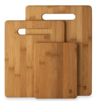 Bamboo Cutting Board, comes in a set of 3. All natural. Attractive, strong and durable. CLICK HERE FOR MORE DETAILS