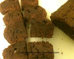 Slice up brownie bar