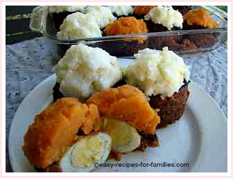 best ground beef recipe to make these ground beef muffins. Cut in half see the egg.