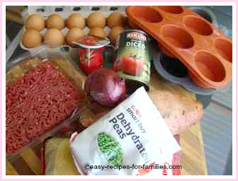 ingredients for the best ground beef recipe