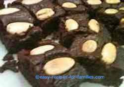 easy brownie recipe with nuts