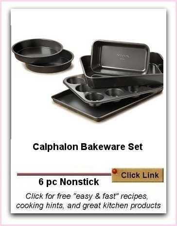 Calphalon Bakeware Set - 6 piece Non Stick