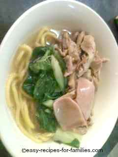 Chicken Noodle Soup Asian Style - So Healthy!