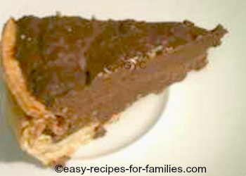 Easy Double Chocolate Pie Recipe