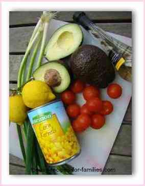 Corn Salad Recipe Ingredients