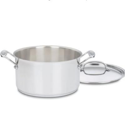 Cuisinart Chef 6 qt stainless steel saucepot
