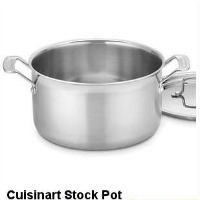 Cuisinart Stock Pot 6 quart Multiclad Pro. CLICK HERE FOR MORE DETAILS
