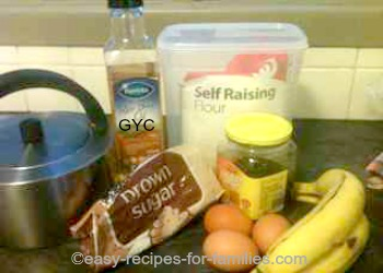 Easy Banana Pudding Ingredients