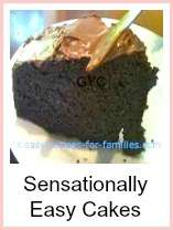 Chocolate cake. One of our easy cake recipes.