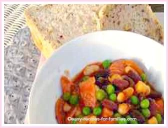 easy chili recipe with corn bread