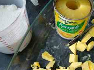 easy cobbler ingredients