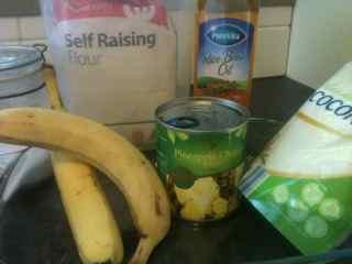 Tropical Cobbler Ingredients