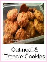 Oatmeal and Treacle Cookies from the collection of easy cookie recipes