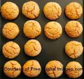 A tray of cookies made from easy cookie recipes