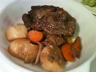 Easy Crockpot Recipes - Roast Beef and Veg