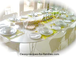 Easy Dinner Party Menu
