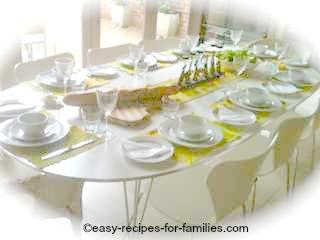 Easy Dinner Party Menu