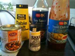 Easy Fried Rice Recipe - Seasoning