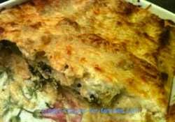 Easy Italian Recipes - Spinach Cannelloni