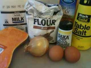 Easy No Yeast Pumpkin Bread Ingredients