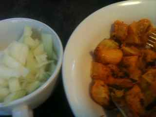 Pumpkin and Onion