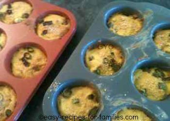 Baked Easy Pumpkin Muffins