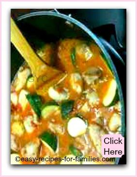Easy Recipes For Chicken - Chicken Marengo