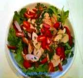 Here's our delicious chicken salad from our collection of easy salad recipes