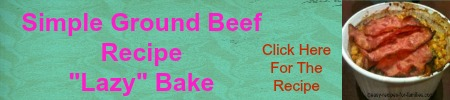 personal ad for ground beef recipe