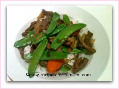 Healthy Easy Recipes - 10 Minute Beef n Veg