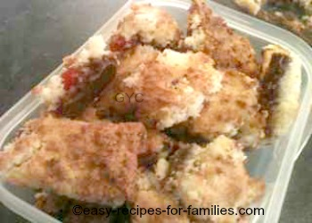 Homemade Candy Recipes - Chocolate Coconut Cherry Squares
