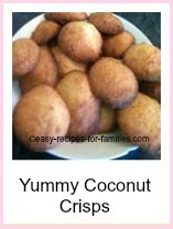 Coconut Drops from the collection of easy cookie recipes
