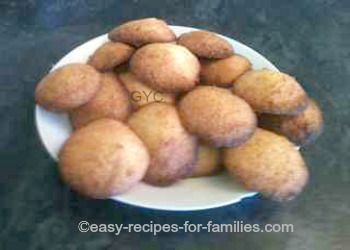 Homemade Cookie Recipe - A plate of Coconut Drops