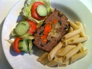Homemade meatloaf recipe Savory Olive Loaf