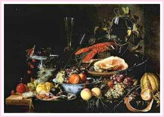 Heem Boijmans Still Life - a Painting of a feast