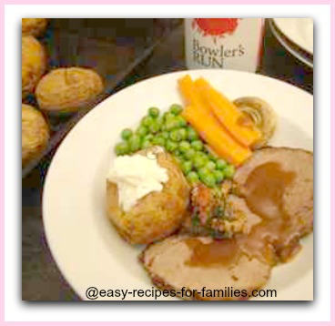 learn how to cook roast beef so that it is moist and delicious just like this