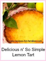 Lemon Tart. So simple So Delicious!