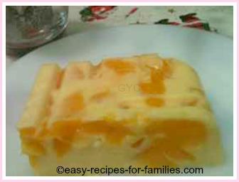 Mango mousse an easy dessert recipe