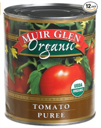 Muir Glen Tomato Puree - a 100 % Organic Product