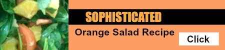 Sophisticated Orange Salad Recipe