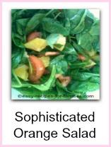Orange Salad Recipe
