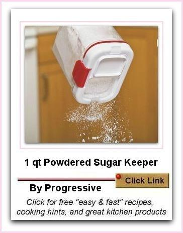 Powdered Sugar keeper by Progressive