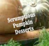 various pumpkins for pumpkin dessert recipes