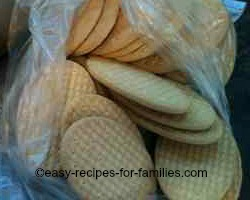 Place Crackers in a clean unused plastic bag