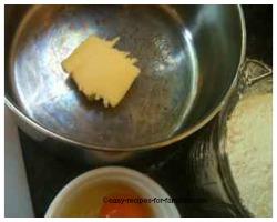 Melt butter in a saucepan