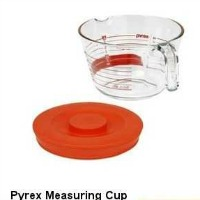 Pyrex Measuring Cup - 8 Cup capacity with lid.  CLICK HERE FOR MORE DETAILS