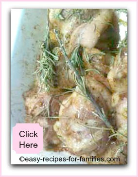 Quick and Easy Chicken Recipes - Chicken fillets in a honey and mustard marinade roasted